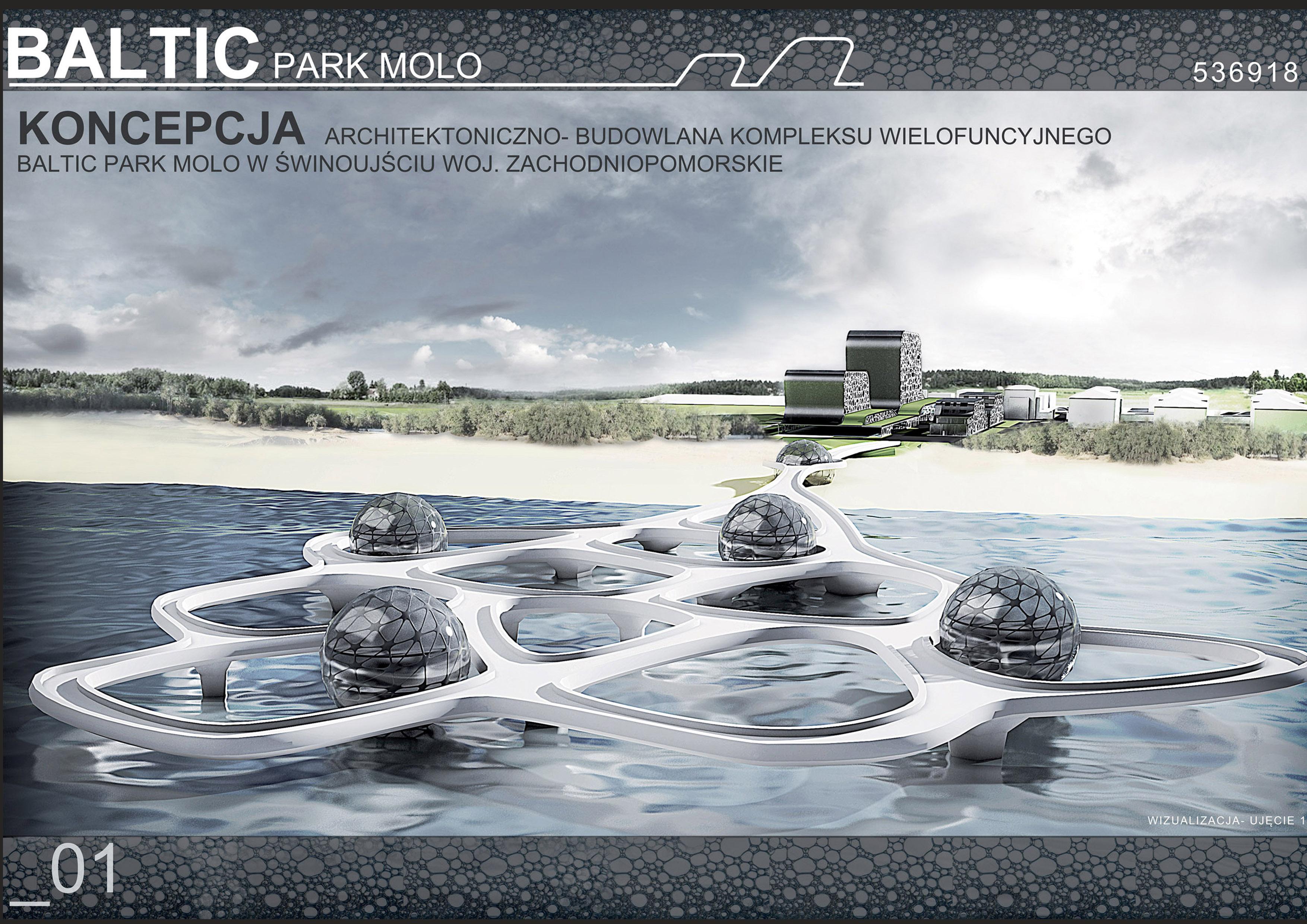 Kompleks wielofunkcyjny Baltic Park Molo w Świnoujściu