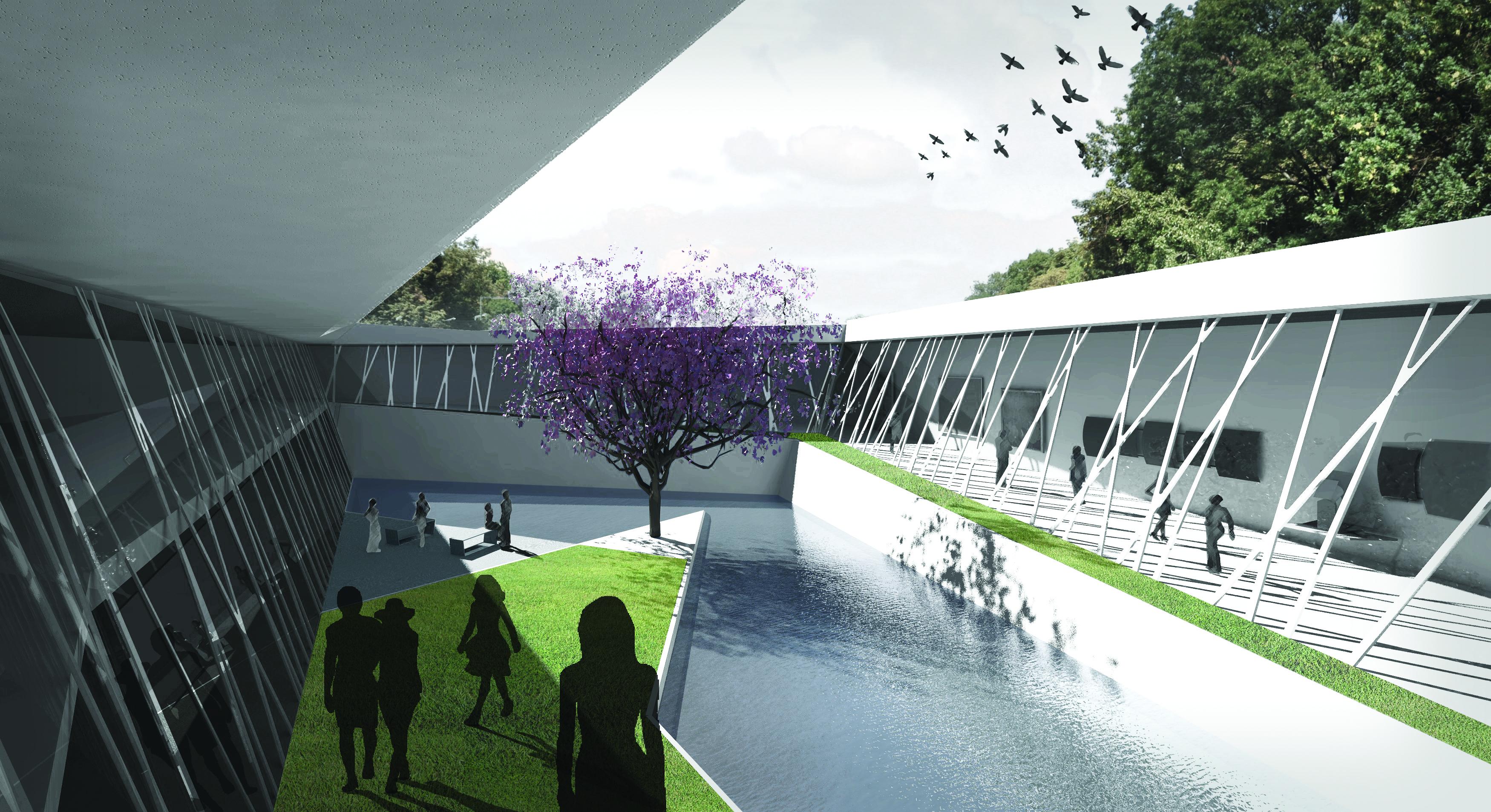 Muzeum Ogród XXI wieku w Łazienkach Królewskich