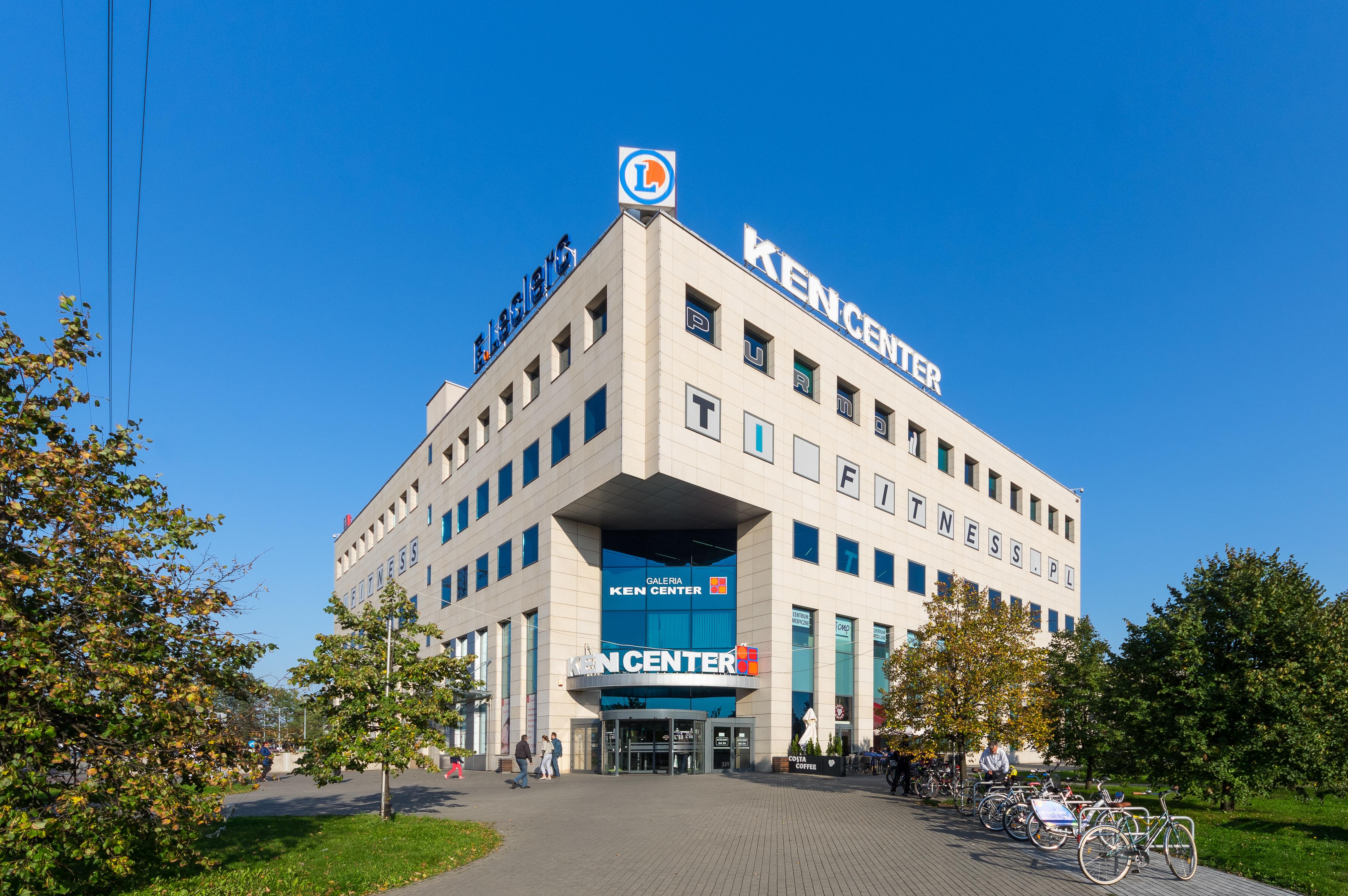 Rozbudowa galerii handlowej Leclerc w Warszawie