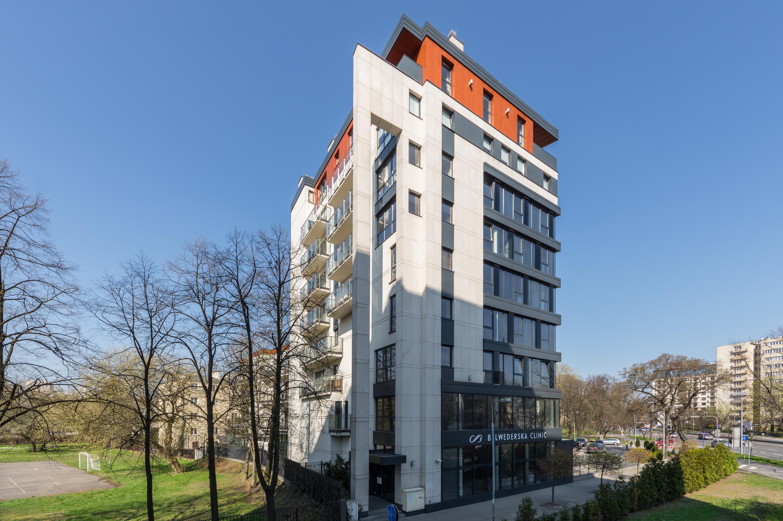 Budynek biurowo-mieszkaniowy przy ulicy Promenada w Warszawie