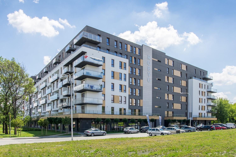 """Budynek wielorodzinny """"Park Wola Residence"""" przy ulicy Sowińskiego w Warszawie"""